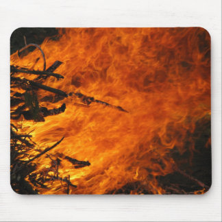 Raging Fire Mouse Pad