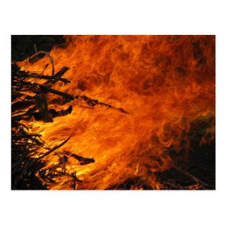 Raging Fire Postcard