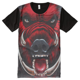Raging Hog All Over All-Over Print T-Shirt