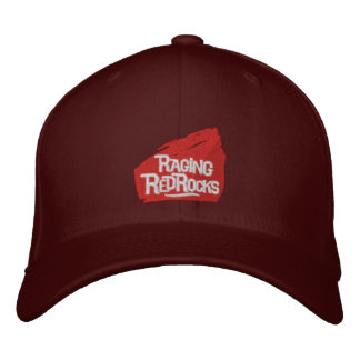 Raging Red Rocks Embroidered Caps