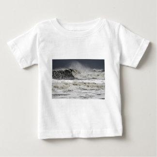 Raging Seas Of Hurricane Sandy Baby T-Shirt