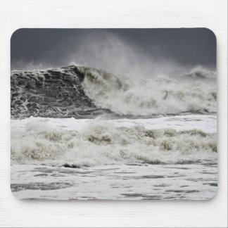 Raging Seas Of Hurricane Sandy Mouse Pad