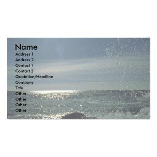 Raging surf, Atlantic Coast Pack Of Standard Business Cards