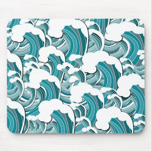 Raging Waves Mousepad