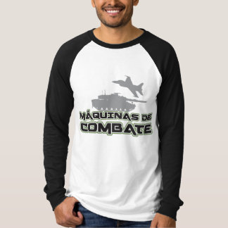 Raglan long mango Machines of Combat T-Shirt