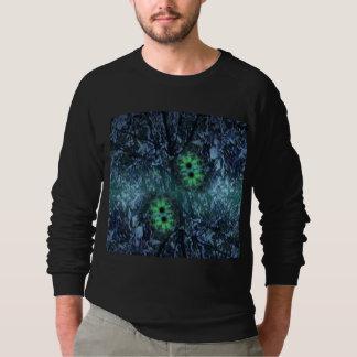 Raglan Sweatshirt with Digital Image 'Rain Forest'