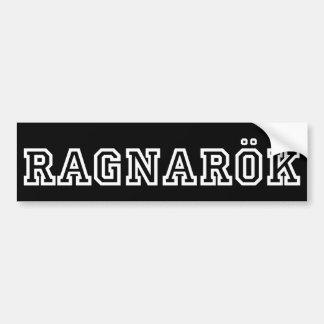 Ragnarok Bumper Sticker