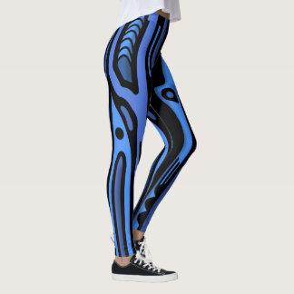 RAGNORAK NORTHWEST BLUE by Slipperywindow Leggings