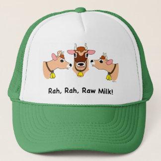 Rah, Rah, Raw Milk! Trucker Hat