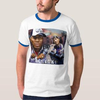 RAHZEL & DJ JS-1 man vs machine t-shirt
