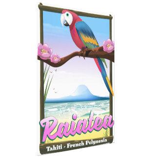 Raiatea Society Islands,Tahiti,French Polynesia. Canvas Print