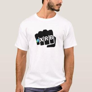 Raiblocks XRB Logo Fist: Black T-Shirt