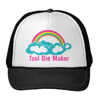 Raibow Cloud Tool Die Maker Mesh Hat