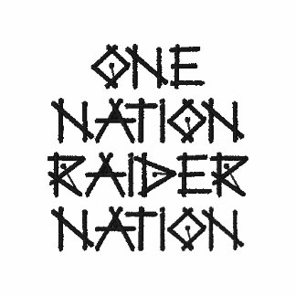 Raider Nation polo