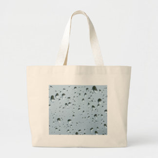 Raidrops Large Tote Bag