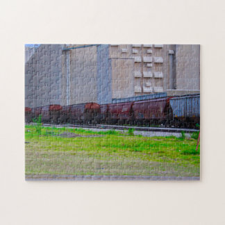 Rail Cars Jigsaw Puzzle