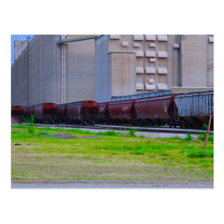Rail Cars Postcard