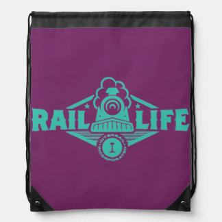 Rail Life™ Drawstring Backpacks