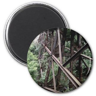 Rail Road Bridge Refrigerator Magnets
