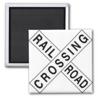 RAIL ROAD CROSSING MAGNET
