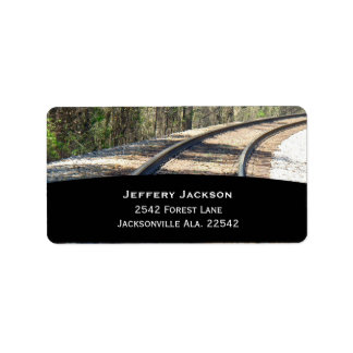 Railroad Address Labels