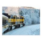 Railroad Alaska Postcard