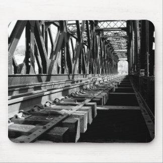 railroad bridge mousepad