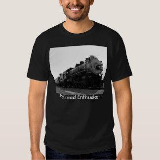 Railroad Enthusiast T Shirt