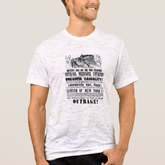 Railroad Outrage A Dreadful Casuality 1864 T-Shirt
