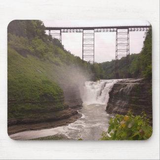 Railroad over the Falls Mousepad