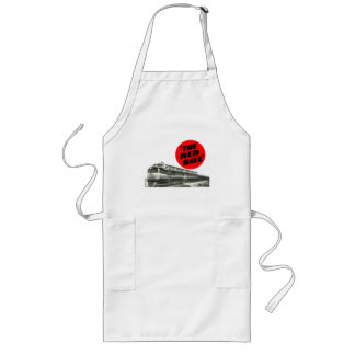 Railroad Red Ball Express Long Apron