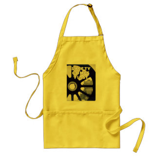 Railroad Safety Comes First Vintage Standard Apron