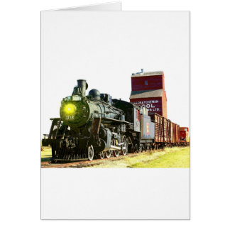 Railroad Scenery Card