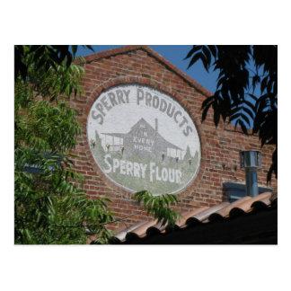 Railroad Sq. Santa Rosa, Ca. Postcard