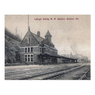 Railroad Station, Easton, Pennsylvania Vintage Postcard