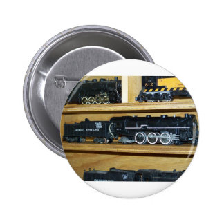 Railroad Steam Engines Steamin On Pinback Button