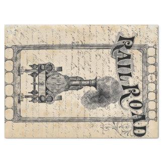 Railroad Tissue Paper