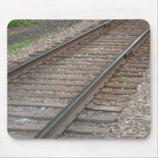 Railroad Tracks Mousepad