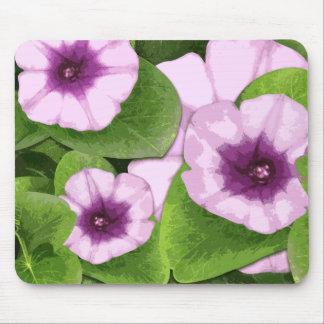 Railroad Vine Flower Mouse Pad