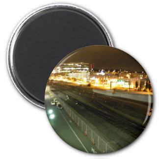 Rails Fridge Magnet