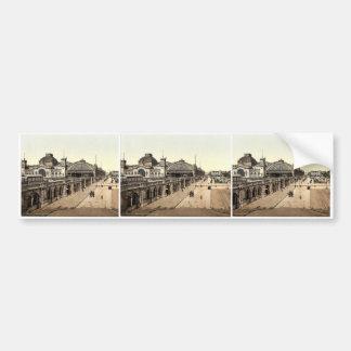 Railway buildings, Altstadt, Dreseden, Saxony, Ger Bumper Sticker