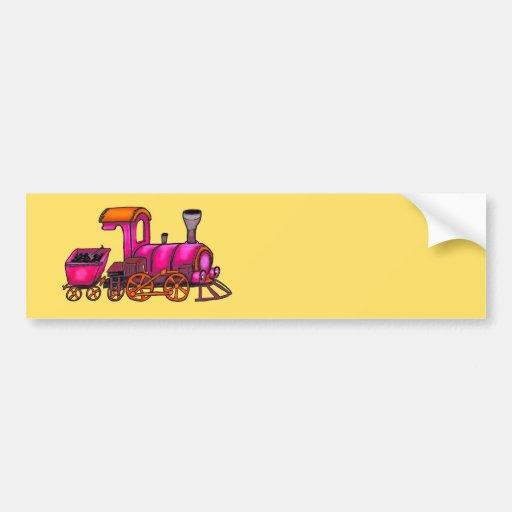 Railway Bumper Stickers