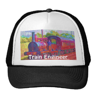 Railway Enthusiast Steam Train Engineer Hat Series