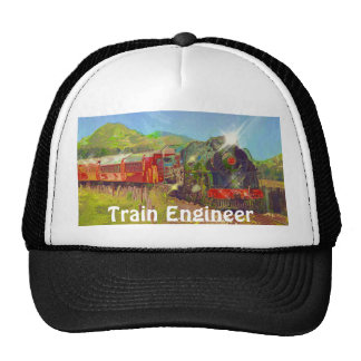 Railway Enthusiast Train Engineer Hat Series