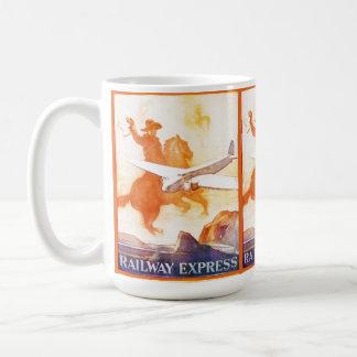 Railway Express Agency 1935 Coffee Mug