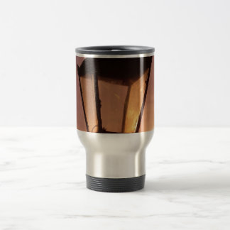RAILWAY LANTERN SUNSET ABSTRACT Travel Mug