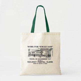 Railway Postal Clerk 1926 Tote Bag