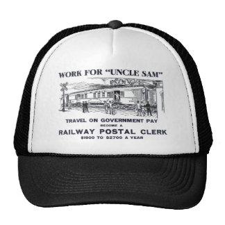 Railway Postal Clerk 1926 Cap