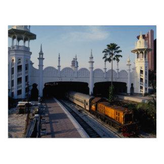 Railway station, Kuala Lumpur, Malaysia Postcard