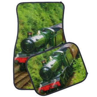 Railway Steam Train for Trainspotters Art Car Mats Floor Mat